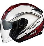オージーケーカブト(OGK KABUTO) バイクヘルメット ジェット ASAGI CLEGANT クレガント パールホワイト L(59-60cm)