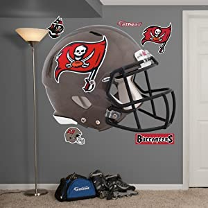 NFL Tampa Bay Buccaneers Helmet Wall Graphics by Fathead