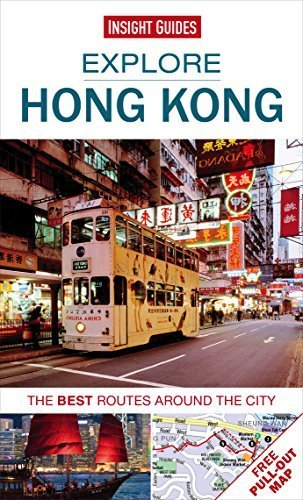 Explore Hong Kong: The best routes around the city by Insight Guides (2014) Paperback