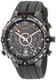 Timex Men's T49860 Intelligent Quartz Adventure Series Tide Temp Compass Gray Silicone Strap Watch