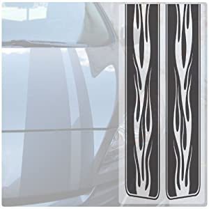 Racing Stripes (Classic Car Graphic ) - Red
