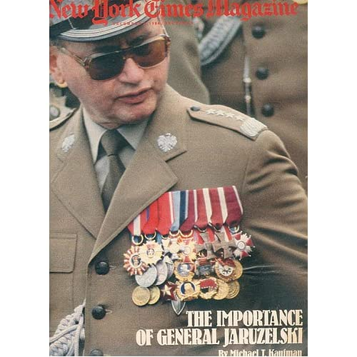 The New York Times Magazine, December 9, 1984 [articles on General Wojciech Jaruzelski, Sting, detente, Supreme Court], Various authors.