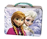 Disney Frozen Metal Tin Lunchbox - Blue, Assorted