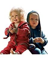 Engel Natur Bio Baby Jacke Kapuze Wolle Schurwolle kbT Frottee IVN Best rot blau