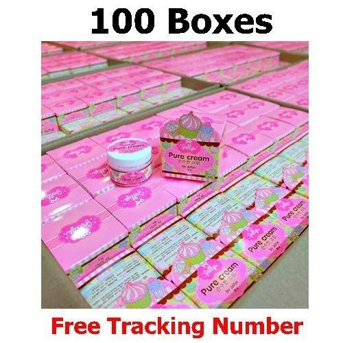 100 X 30g Jellys Skin Pure Cream, Body Supreme Whitening Lightening Aging