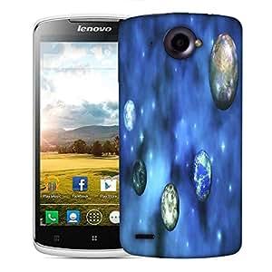 Snoogg cosmic visualization Designer Protective Back Case Cover For Lenovo S920