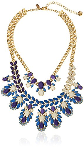 "Kate Spade New York ""Steamer Glow"" Statement Necklace front-575152"