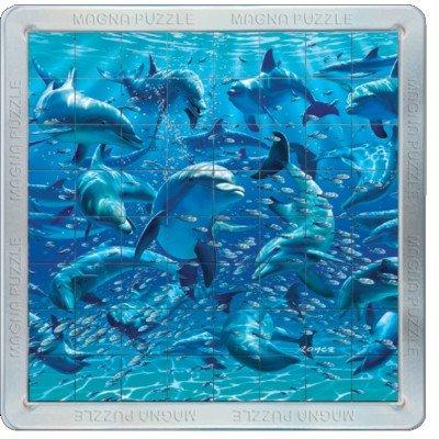 Delfines 3D Puzzle Magna 64 partes