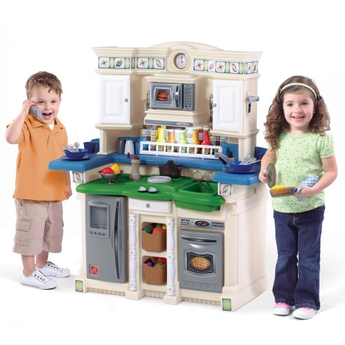 Step 2 Partytime Kitchen: Pretend Play Kitchen For Toddlers