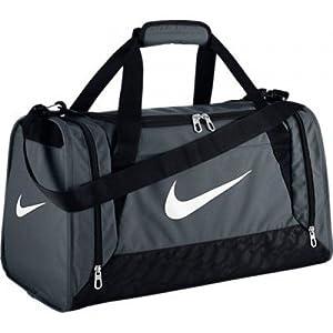 Nike Brasilia 6 X-Small Duffel Bag Flint Grey Size X-Small