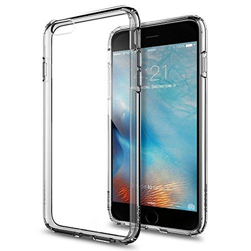 Spigen iPhone6s Plus ケース / iPhone6 Plus ケース, ウルトラ・ハイブリッド [ 背面 クリア ] アイフォン6s プラス / 6 プラス 用 米軍MIL規格取得 耐衝撃カバー (スペース・クリスタル SGP11645)