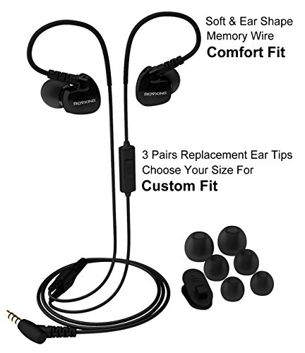 Defway Rovking Sweatproof In Ear Sports Headphones