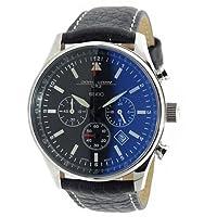 [ヨーグ グレイ] JORG GRAY 腕時計 クロノグラフ シークレット サービス エディション バラク オバマ 大統領 限定モデル JG6500 ブラック/ブラック メンズ [並行輸入品]
