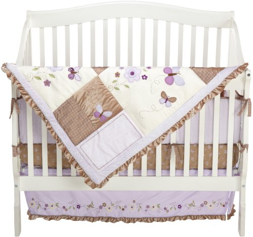 Carter's Garden Party 4 Piece Crib Bedding Set