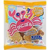 三立製菓 ミニかにぱん カスタード味 80g×12個