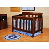 Athena Alice Convertible Crib and Grace I Changing Table in Cherry