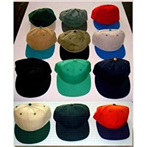 Assorted High Quality Blank Baseball Hats Case Pack 72