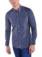 Galvanni Camisa Hombre Indie (Azul Oscuro)