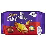 Cadbury Dairy Milk with Ritz Biscuit Chocolate Bar 35 g(Pack of 18 Bars)