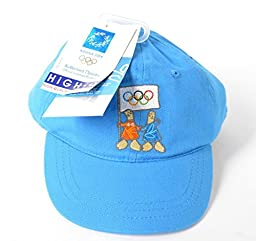 Olympic Games Athens 2004 Rare Baby Cap Hat Official Licensed Product New