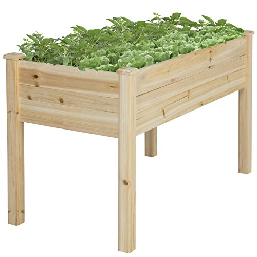 Best-Choice-Products-Raised-Vegetable-Garden-Bed-Elevated-Planter-Kit-Grow-Gardening-Vegetables