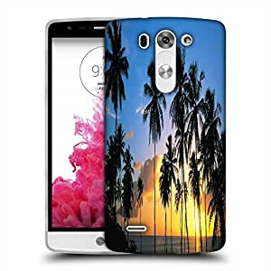 Snoogg Coconuts Trees Designer Protective Phone Back Case Cover For LG G3 BEAT STYLUS