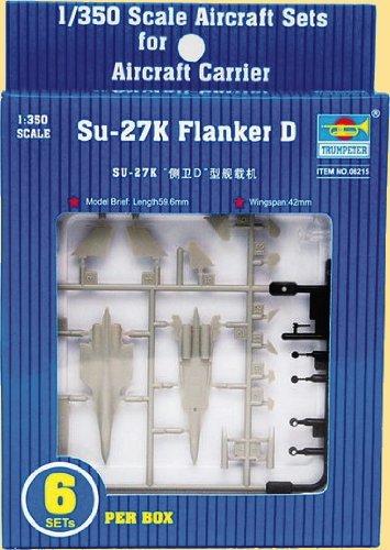 Trumpeter Su-27K Flanker D Aircraft Set