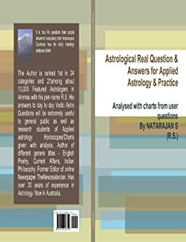 astrological real question and answers for applied astrology and practice - natarajan s (rs)