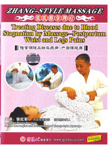 Treating Diseases Due to Blood Stagnation by Massage