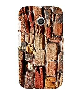 EPICCASE Sea rocks Mobile Back Case Cover For Moto E (Designer Case)