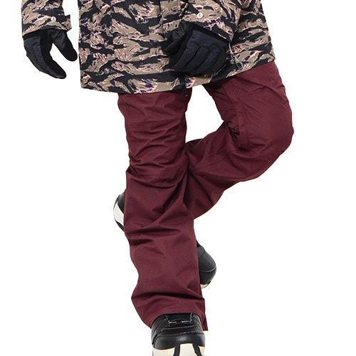 AA HARDWEAR(ダブルエー ハードウェア) スノーボード パンツ ハードウェア BUZZ PANTS パンツ SMOKER PANTS ボトムス スリムフィット メンズ Sサイズ BORDEAUX smoker-pants-S-72115333-BORDEAUX