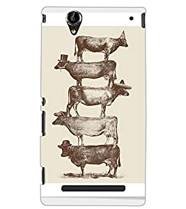 SONY XPERIA T2 ULTRA BUFFALOES Back Cover by PRINTSWAG