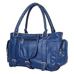 Glory Fashion Women's Stylish Handbag Blue-AK-254
