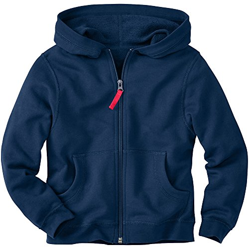 Hanna Andersson Little Boy Very Güd Survivor Jacket In 100% Cotton , Size 100 (4T), Navy