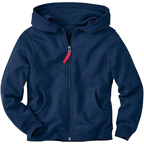 Hanna Andersson Little Boy Very Güd Survivor Jacket In 100% Cotton , Size 100 (4T), Navy