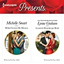 Helios Crowns His Mistress & Leonetti's Housekeeper Bride Audiobook by Michelle Smart, Lynne Graham Narrated by Faye Adele