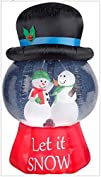 Gemmy Inflatable Snowglobe with Snowm…