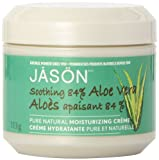 Jason Aloe Vera 84% Ultra-Comforting Moisturizing Creme, 4-Ounce Jars