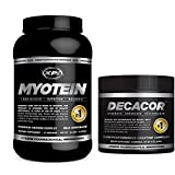 Muscle Building Top Sellers Kit - Decacor Creatine and Myotein (Chocolate) - Best Creatine Powder and Premium Protein Powder