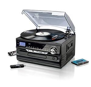 stereoanlage mit encoding radio plattenspieler. Black Bedroom Furniture Sets. Home Design Ideas