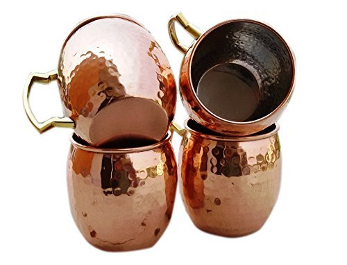 moscow-mule-mug-handmade-of-100-pure-copper-nickel-lined-brass-handle-hammered-moscow-mule-mug-cup-c