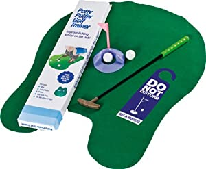 Longridge Potty Putter - Das WC Golf Set für die Toilette