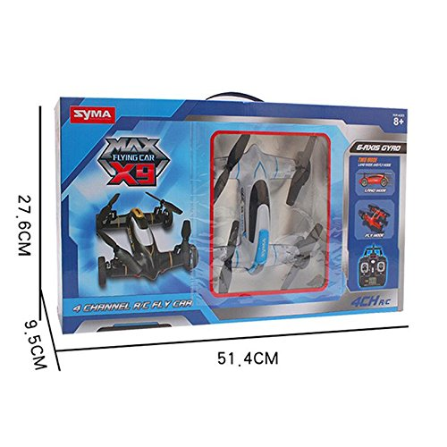 Syma-X9-Fly-Car-4-Channel-24Ghz-RC-Quadcopter-BLACK