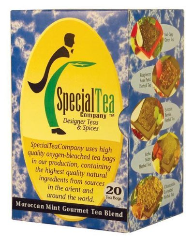Moroccan Mint Gourmet Green X 80 Tea Bags + Free Samples