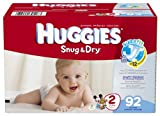 Huggies Snug & Dry Diapers, Size 2, 92 Count
