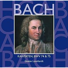 """Cantata No.75 Die Elenden sollen essen BWV75 : XI Recitative - """"Wer nur in Jesu bleibt"""" [Bass]"""