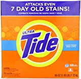 Tide Ultra He Clean Breeze Scent Powder Laundry Detergent 68 Loads 95 Oz