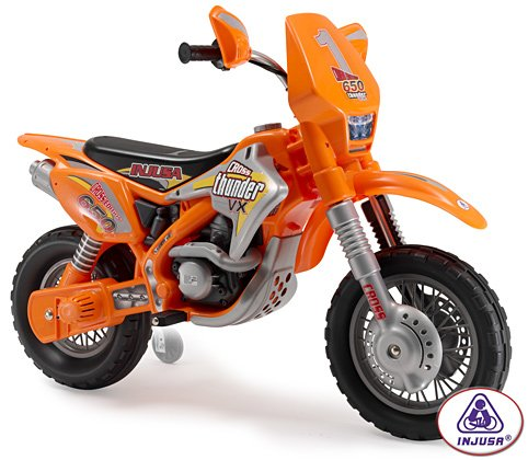 Injusa Motocross Thunder Max Vx 12V Kids Battery Motorcycle