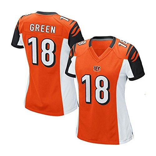 Womens Bengals AJ Green #18 Orange Game Jersey L (Aj Tiffany compare prices)