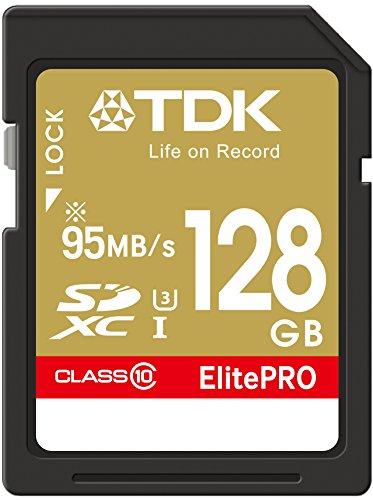 【Amazon.co.jp限定】TDK SDXCカード 128GB UHS-1 U3対応 最大読込速度95MB/s,最大書込速度90MB/s 4K動画撮影 5年保証 フラストレーションフリーパッケージ (FFP) SDXC10UP-128G-FFP